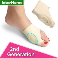 Hallux Valgus Correction Sleeve Feet Care Special Big Toe Bone Silicone Ring Foot Thumb Orthopedic Brace Relieve Foot Thumb Pain