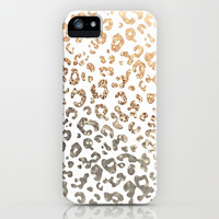 GOLD LEO iPhone & iPod Case by Monika Strigel