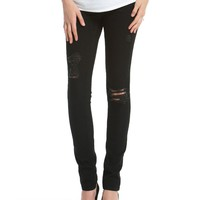 Jessica Simpson Secret Fit Belly Faux Front Pockets Skinny Leg Maternity Jeans
