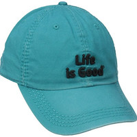 Life is good B and B Branded Chill Cap (Teal Blue), One Size