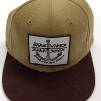 """Bare Wires Five Panel """"Big Anchor"""" Hat"""