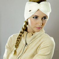 by (Oleel) Head Bands,Head Wraps,Stretch,Hair Coverings,Head Scarf,Cream,Crocheted,Warmer,Knit,Hair Covering,Girl,Haircover,Hair Band,Girls,Knitted