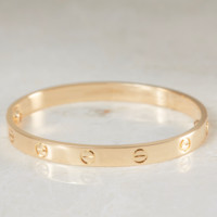 CARTIER LOVE BRACELET 18K YELLOW GOLD LOVE BANGLE SIZE RRP £5600 Box & Papers