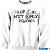 They are not only books crewneck