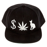 MONEY WEED PUSSY CAT SNAPBACK