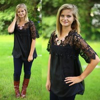 Elegance Never Goes Out Of Style Top