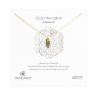 Soul Gems Labradorite Necklace, Gold Dipped   Dogeared