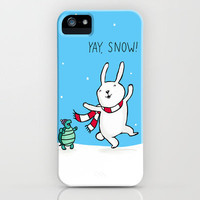 Yay Snow! iPhone Case by Dale Keys   Society6