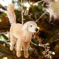 Bottlebrush Labrador Retriever Ornament