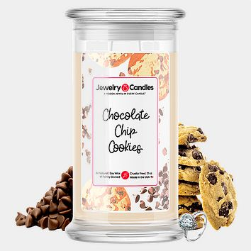 Chocolate Chip Cookies Jewelry Candle