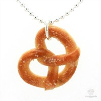 Scented Pretzel Necklace