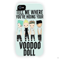 5 Seconds Of Summer Voodoo Cover For iPhone 4 / 4S Case