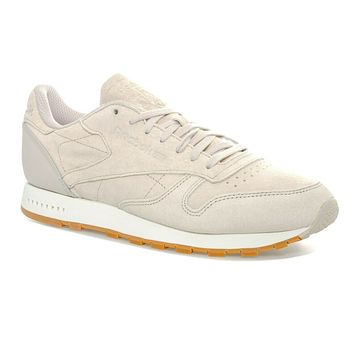 Reebok Classic Leather SG Sand Stone Gum BS7893 Mens Trainer Sneakers