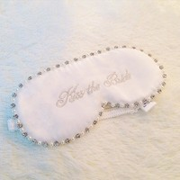 Pearl Double Sided Adjustable White Eyemask [9223112067]