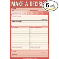 Knock Knock Make a Decision Note Pad (12217)