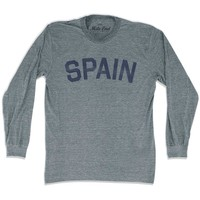 Spain City Vintage Long Sleeve T-shirt