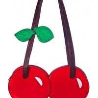 Red Cherry Shaped Purse | Dolls Kill