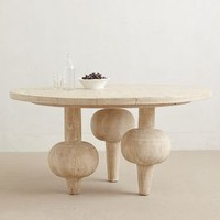 Kalasha Dining Table by Anthropologie Neutral One Size Furniture