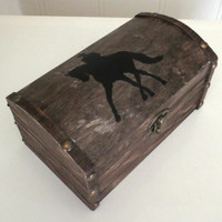Dressage Horse Jewelry Chest