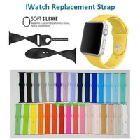 Replacement Sports Silicone Bracelet Strap Band for Smart Watch iWatch 38mm/42mm   1