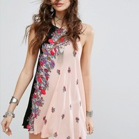 Free People Printed Slip Dress at asos.com