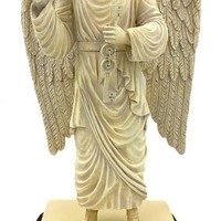 Archangel Uriel of Repentance Angel Guardian of Hell Statue Large 14H