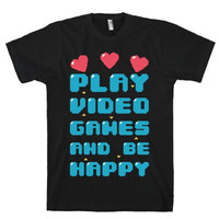 PLAY VIDEO GAMES TEES