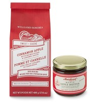 Williams-Sonoma Cinnamon Apple Quick Bread Mix & Maple Apple Butter