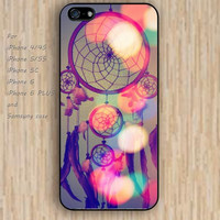 iPhone 5s 6 case sun case dream catcher colorful phone case iphone case,ipod case,samsung galaxy case available plastic rubber case waterproof B598