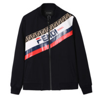 FENDI 2018 autumn new men's self-cultivation casual baseball uniform flying jacket sweatshirt