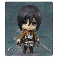 Attack on Titan Mikasa Ackerman Nendoroid Action Figure - Good Smile Company - Attack on Titan - Action Figures at Entertainment Earth