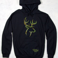 Country Girl® Camo Deer Logo Relaxed Pullover Hoodie