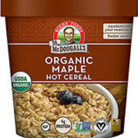 Dr. McDougall's Organic Maple Oatmeal - Pack of 6