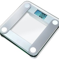 """EatSmart Precision Digital Bathroom Scale w/ Extra Large Lighted Display, 400 Pound Capacity and """"Step-On"""" Technology"""