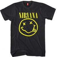 Nirvana Unisex T-shirt Funny and Music