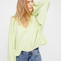 Free People Oh My Sleeve Pullover