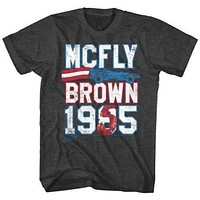 Mens Back to the Future Marty for Prez Retro T-Shirt