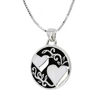 """Sterling Silver """"A Sister Is Someone To Dream, Cry, Sing, Laugh with """" Reversible Pendant Necklace, 18"""""""