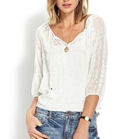 Boho Dream Embroidered Top