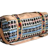 Cream - Navajo Duffel bag