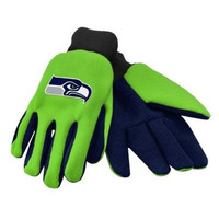 Seattle Seahawks Forever Collectibles Sports Utility Gloves - 1 Pair
