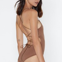 Back In Business Strappy Bodysuit