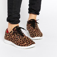 Blink Leopard Trainers