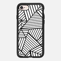 Abstraction Lines Zoom iPhone 7 Case by Project M | Casetify