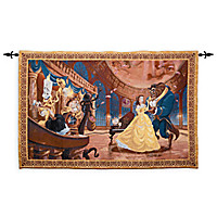 Beauty & the Beast Tapestry Wall Hanging