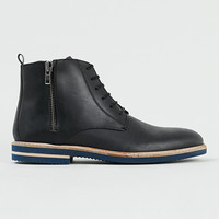 Jermaine Black Leather Boots