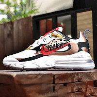 NIKE 270 New Fashion Letter Hook Sports Leisure Running Women Men Shoes