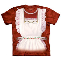 MRS CLAUS Costume The Mountain Funny Christmas Holiday Party T-Shirt S-3XL NEW
