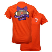 Southern Couture South Carolina Clemson Tigers Vintage Football T-Shirt