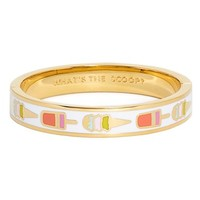 kate spade new york 'idiom - what's the scoop' bangle bracelet   Nordstrom
